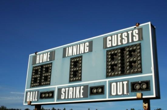 baseball-score-board