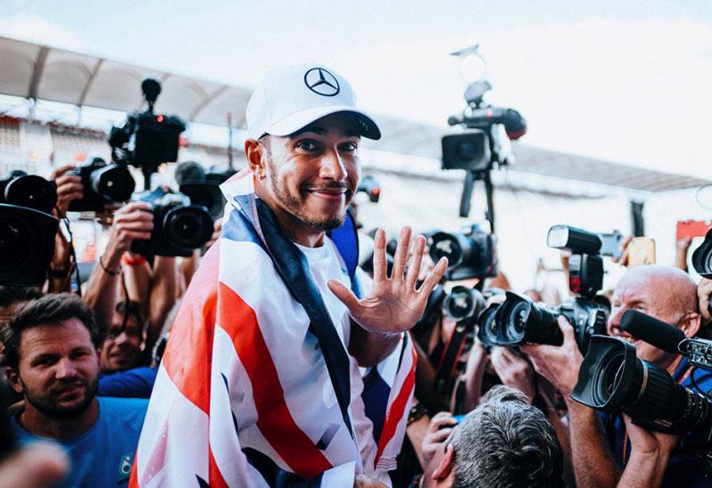 Lewis Hamilton campione del mondo 2018