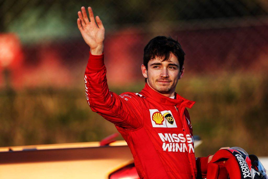 Leclerc F1 Testing Barcelona