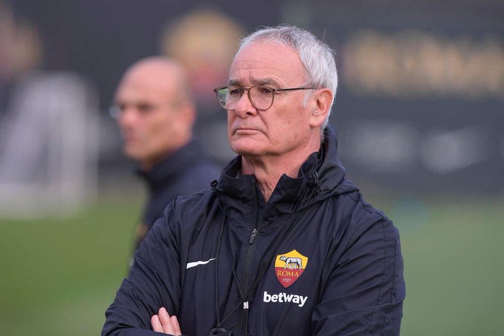 Claudio Ranieri mister Roma