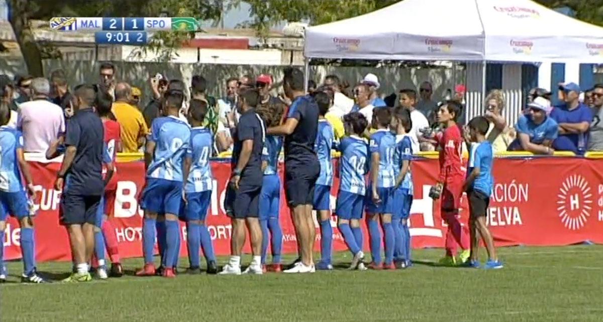 Malaga CF Lite tra genitori dei bambini