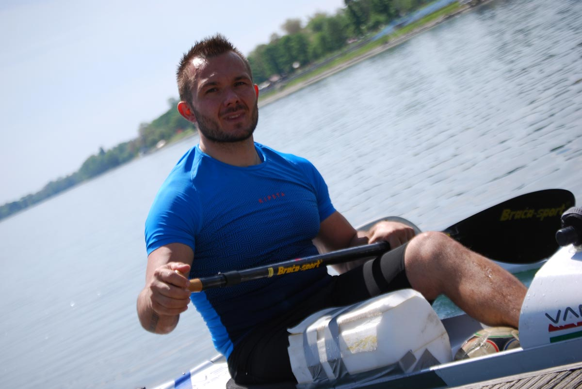 Mirko Nicoli paracanoa va'a Paolo Valli mental coach