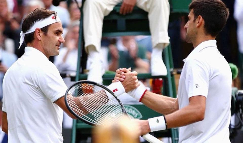 Djokovic Federer il potere della visualizzazione