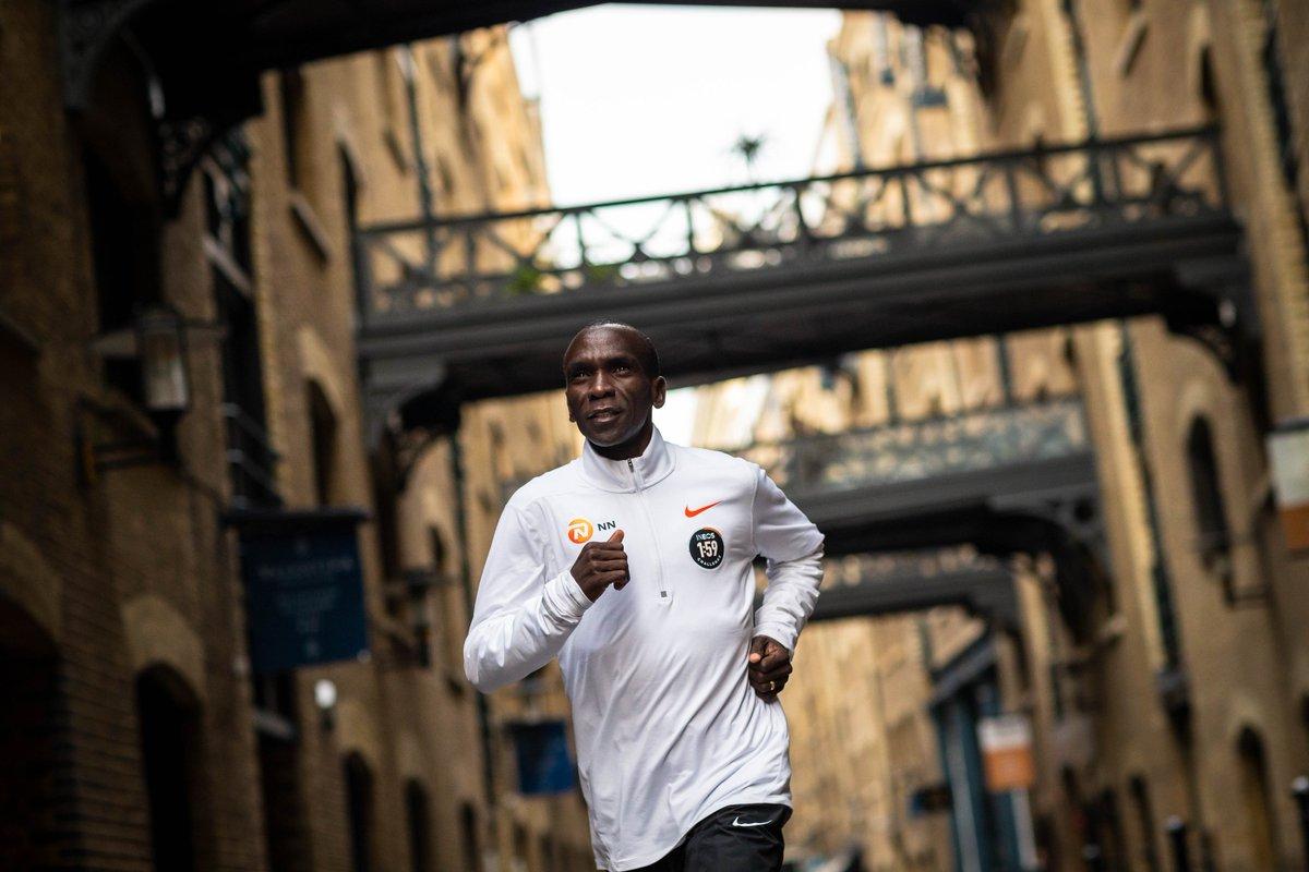 Eliud Kipchoge maratona