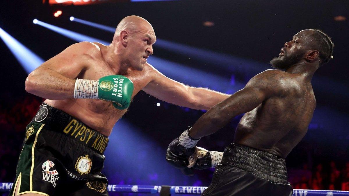Tyson Fury VS Deontay Wilder -Las Vegas