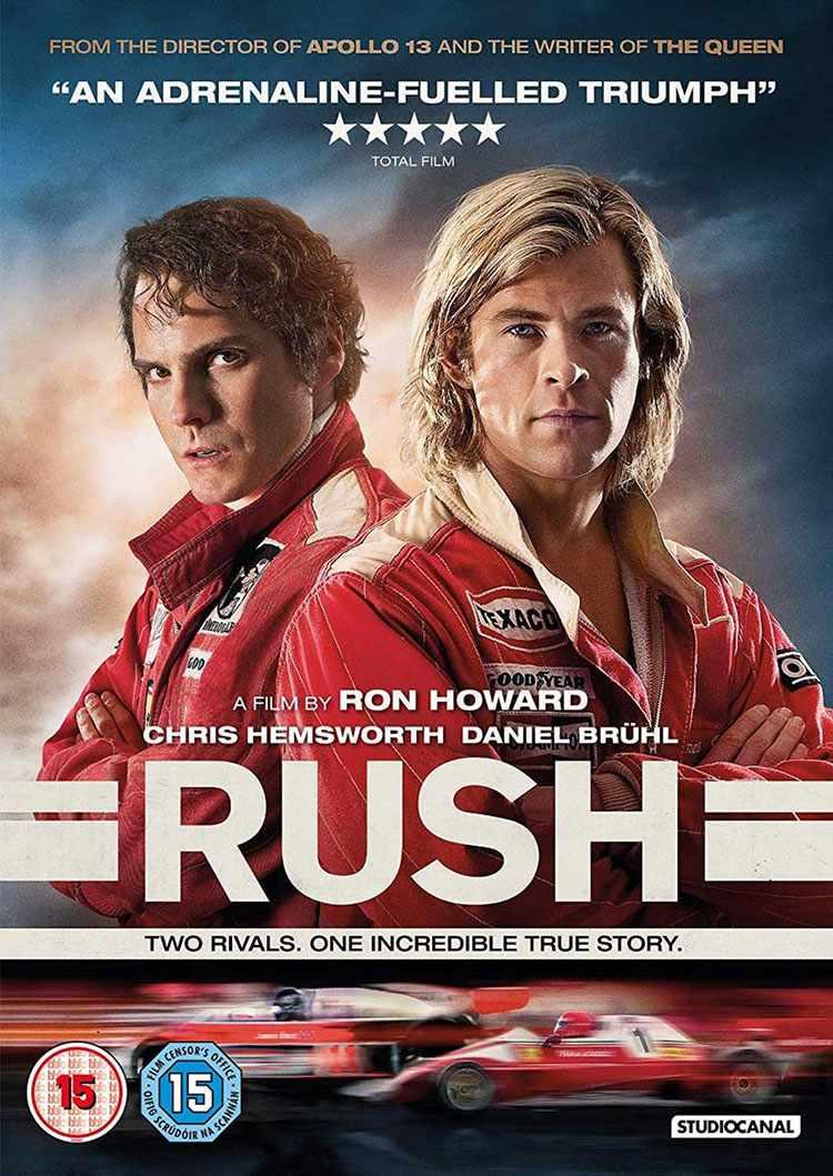 Rush FILM per appassionati di sport